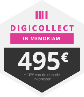 Digicollect <em>In Memoriam</em> - al voor 495,- euro
