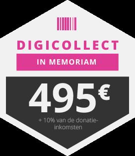 Digicollect <em>In Memoriam</em> - al voor 495,- euro