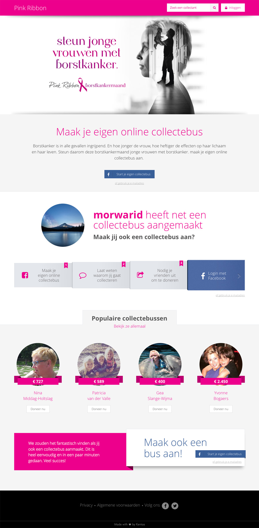 Website pinkribbon